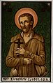 Saint Benedict Joseph Labre. Colour lithograph. Wellcome V0031693.jpg