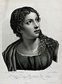 Saint Catherine. Stipple engraving by N. Bertrand after E. B Wellcome V0031814.jpg
