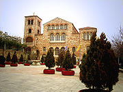 The Church of Hagios Demetrios, Patron Saint of the city, in central Thessaloniki.