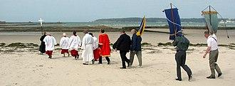 Helier - Pilgrimage in 2009.