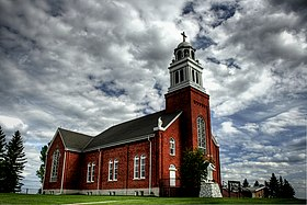 Saint Vital Roman Catholic Church Beaumont Alberta Canada 01A.jpg