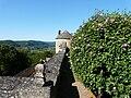 Sainte-Mondane château Fénelon tour nord (2e enceinte) vue d'en haut.JPG