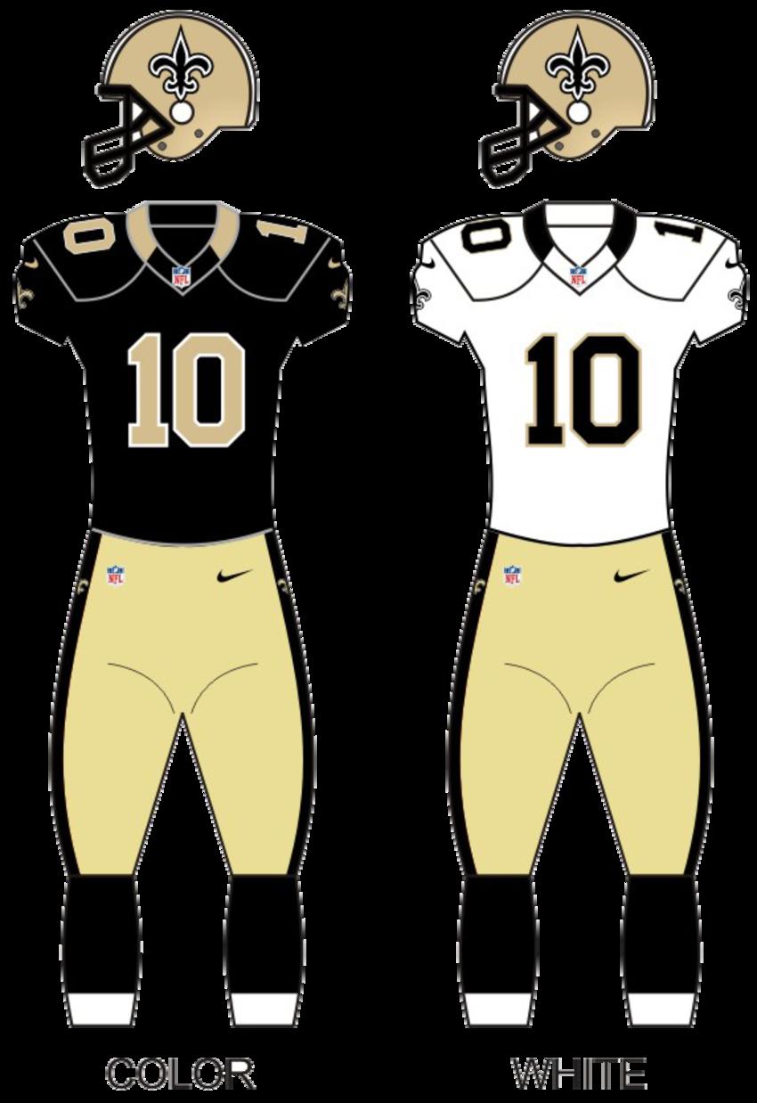 Saints uniforms12