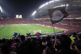 Sport in Japan - J1 League football game at Saitama Stadium