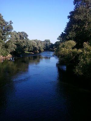 Sajó - Sajó river between Sajóvámos and Szirmabesenyő