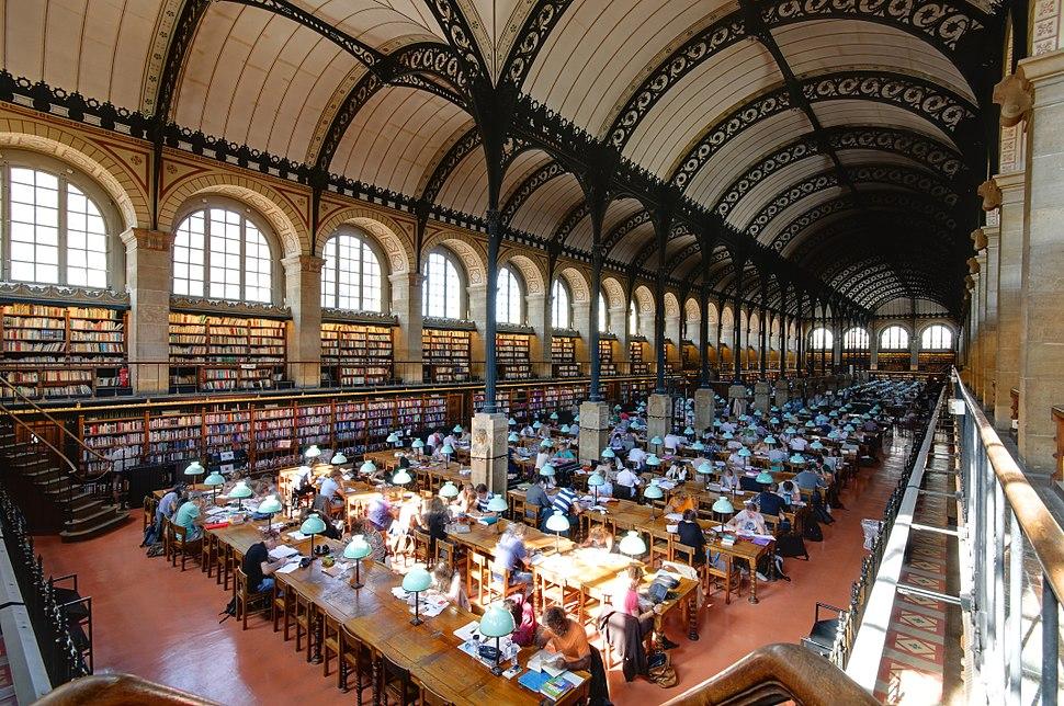 Salle de lecture Bibliotheque Sainte-Genevieve n10