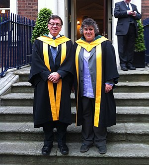 Sally Wheeler (legal scholar) - Sally Wheeler (right) at her investiture into the Royal Irish Academy in 2013