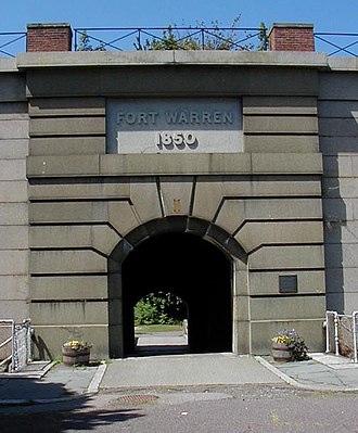 Fort Warren (Massachusetts) - Fort Warren's sally port