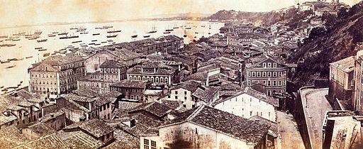 Salvador bahia panorama 1870