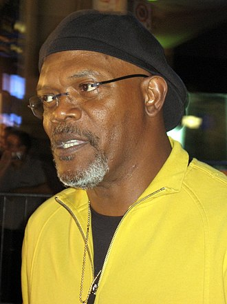 Coach Carter - Actor Samuel L. Jackson who portrayed real-life basketball coach Ken Carter.
