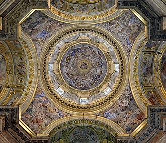 Naples Cathedral - Dome of the Royal Chapel of the Treasure of St. Januarius