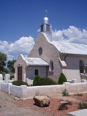 San Ysidro, New Mexico - Old church in San Ysidro