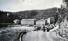 Il litorale sanmichelino in una fotografia di fine XIX secolo
