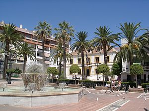 Lovers Rock (album) - The album was partly recorded in London and San Pedro de Alcántara (pictured)