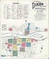 Sanborn Fire Insurance Map from Dixon, Lee County, Illinois. LOC sanborn01827 005-1.jpg