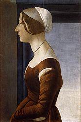 Сандро Боттичелли: Portrait of a Young Woman