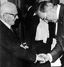 Helmut Kohl con Sandro Pertini (1979)