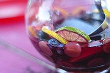 Cuanto porciento de alcohol tiene la sangria