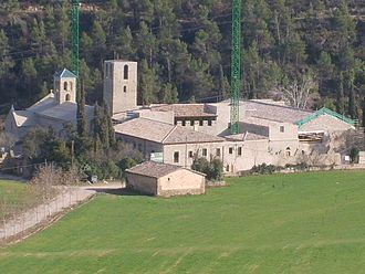 Sant Benet de Bages - The monastery of Sant Benet de Bages as it has been restored by Josep Puig i Cadafalch.