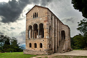 Image illustrative de l'article Église Santa María del Naranco d'Oviedo