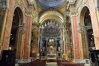 Santa Maria della Scala - Interior.