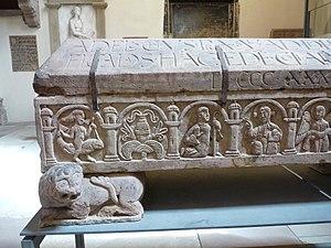 Adelochus - Image: Sarcophage d'Adeloch (3)
