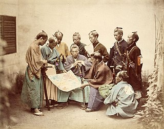 Civil war in Japan, fought from 1868 to 1869