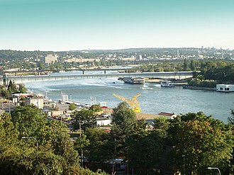 Sava - Sava River in Belgrade, Serbia