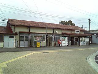 Sawa Station (Ibaraki) Railway station in Hitachinaka, Ibaraki Prefecture, Japan
