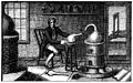 Scene showing Lavoisier with the apparatus Wellcome M0019015.jpg
