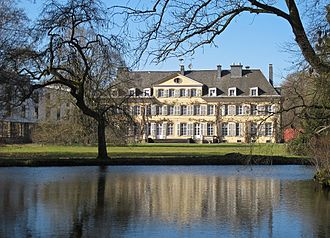 Ell, Luxembourg - Colpach Castle