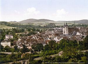 Schmalkalden - Schmalkalden about 1900