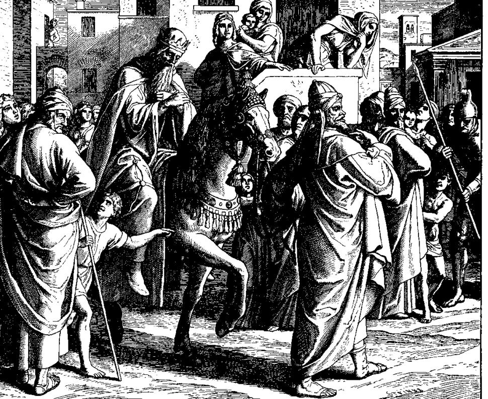 Schnorr von Carolsfeld Bibel in Bildern 1860 130