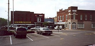 National Register of Historic Places listings in Allen County, Kentucky - Image: Scottsville KY square