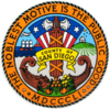 Official seal of San Diego County (Spanish)