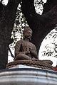 Seated Buddha - Berhampore Court Railway Station Area - Murshidabad 2014-11-11 9048.JPG