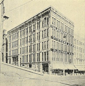 Holyoke Building - The Holyoke Building in 1900