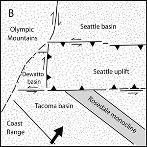 Tacoma Fault - Image: Seattle uplift B