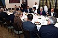 Secretaries Kerry, Pritzker join U.S. and Indian businessmen for working dinner in New Delhi.jpg