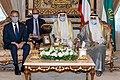 Secretary Blinken Meets with Kuwaiti Amir Sheikh Nawaf Al-Ahmed Al-Jaber Al-Sabah and Kuwaiti Crown Prince Sheikh Mishal Al-Ahmed Al- Sabah (51345107712).jpg