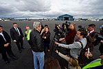 Secretary Kerry Addresses Reporters After Flying From Antarctica to Christchurch International Airport in New Zealand (22755692498).jpg