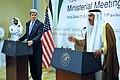 Secretary Kerry Addresses Reporters With Qatari Prime Minister Sheikh Hamad bin Jassim bin Jabr Al Thani.jpg