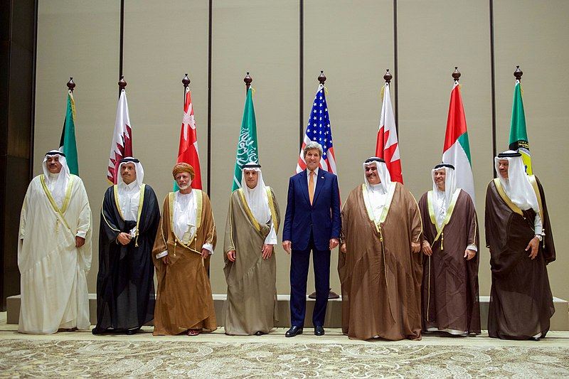 File:Secretary Kerry Stands With His Fellow Foreign Ministers From the Gulf Cooperation Council Amid a Series of Meetings in Manama (25688512004).jpg