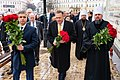 Secretary Pompeo Visits St. Michael's Memorial in Kyiv (49470474037).jpg