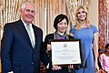 Secretary Tillerson and Advisor to the President Ivanka Trump With 2017 TIP Hero Allison Lee of Taiwan (35532317836).jpg