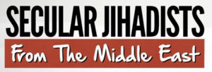 Faisal Saeed Al Mutar - Secular Jihadists podcast logo.