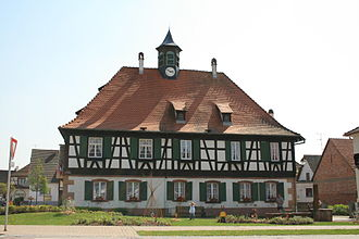 Seebach, Bas-Rhin - Town hall