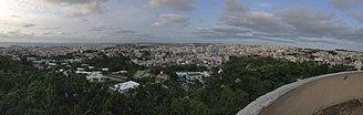 Marine Corps Air Station Futenma - Marine Corps Air Station Futenma and the town of Ginowan, Okinawa.
