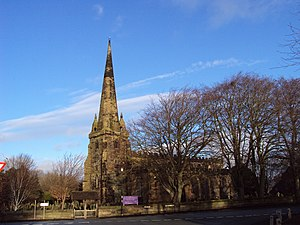 English: Sefton Church, Sefton, Merseyside