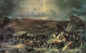 Sen-Gotard by Suvorov troops in 1799.jpg